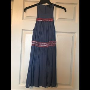 French Connection Boho Beaded Dress